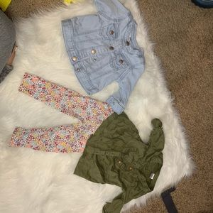12 month jacket and outfit